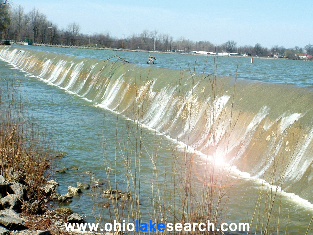 Indian Lake Ohio Spillway