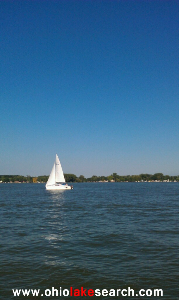 Sailing at Indian Lake
