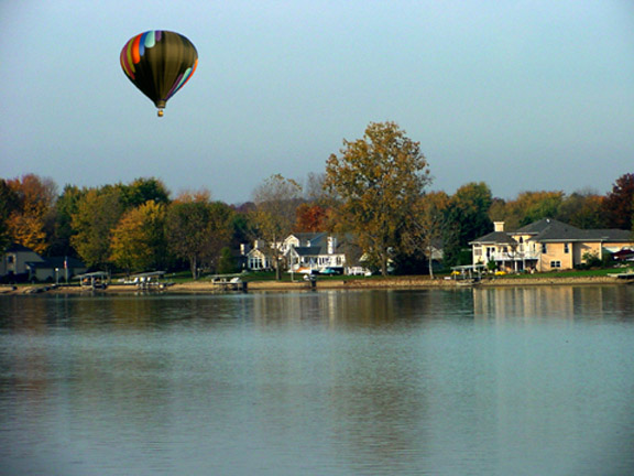 Lake Choctaw Ohio Balloon Flight