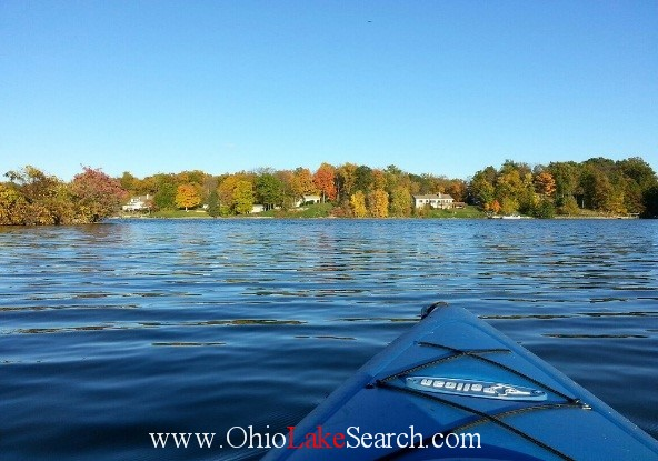 Kayaking at Holiday Lakes Ohio