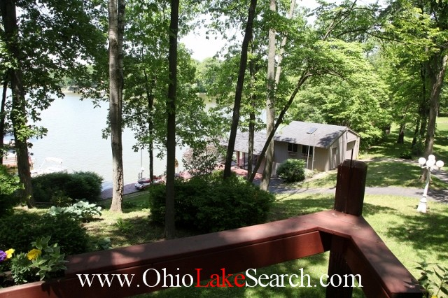 View of Holiday Lakes Ohio from lake home