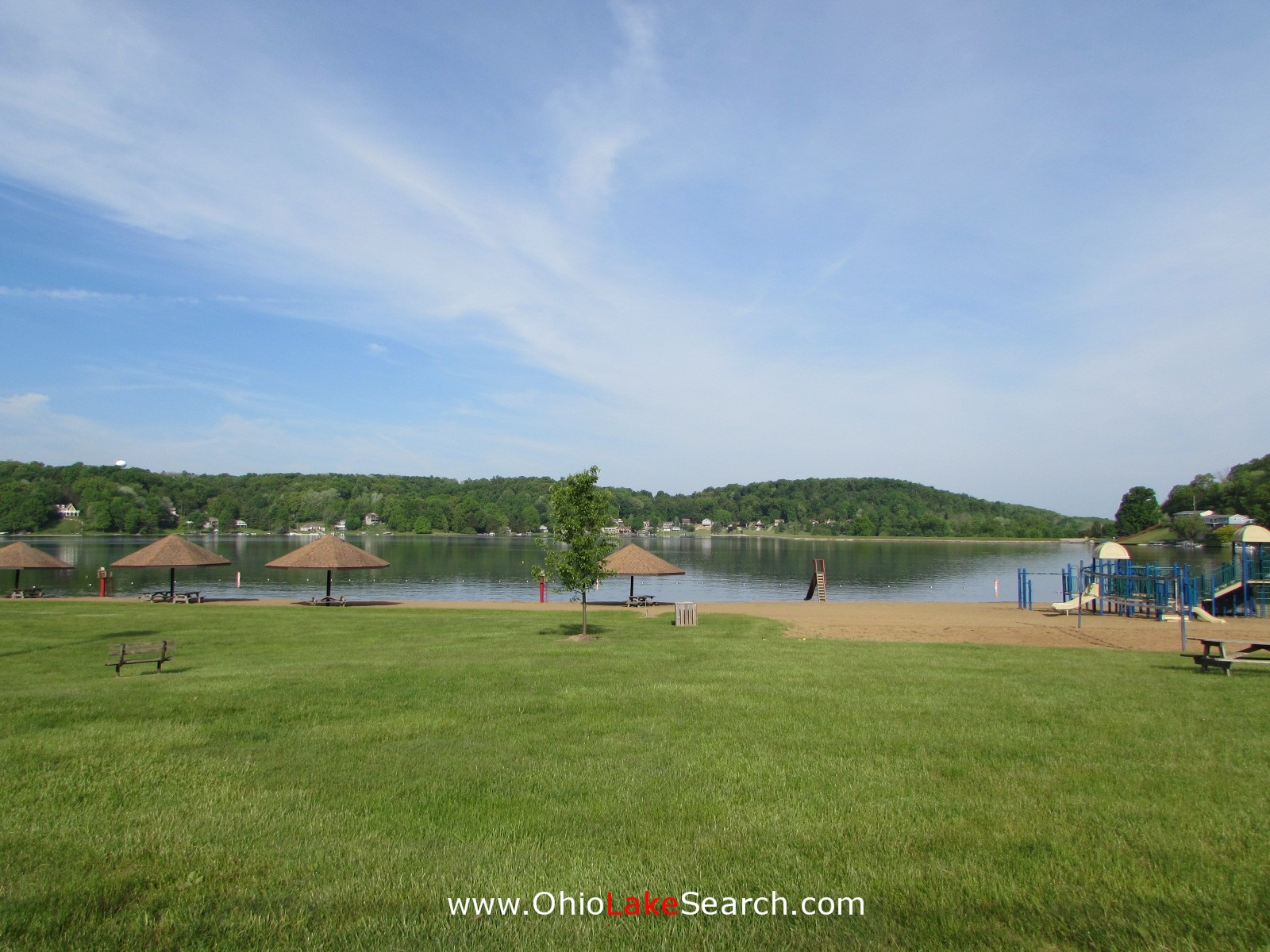 Lake Mohawk Ohio Main Beach