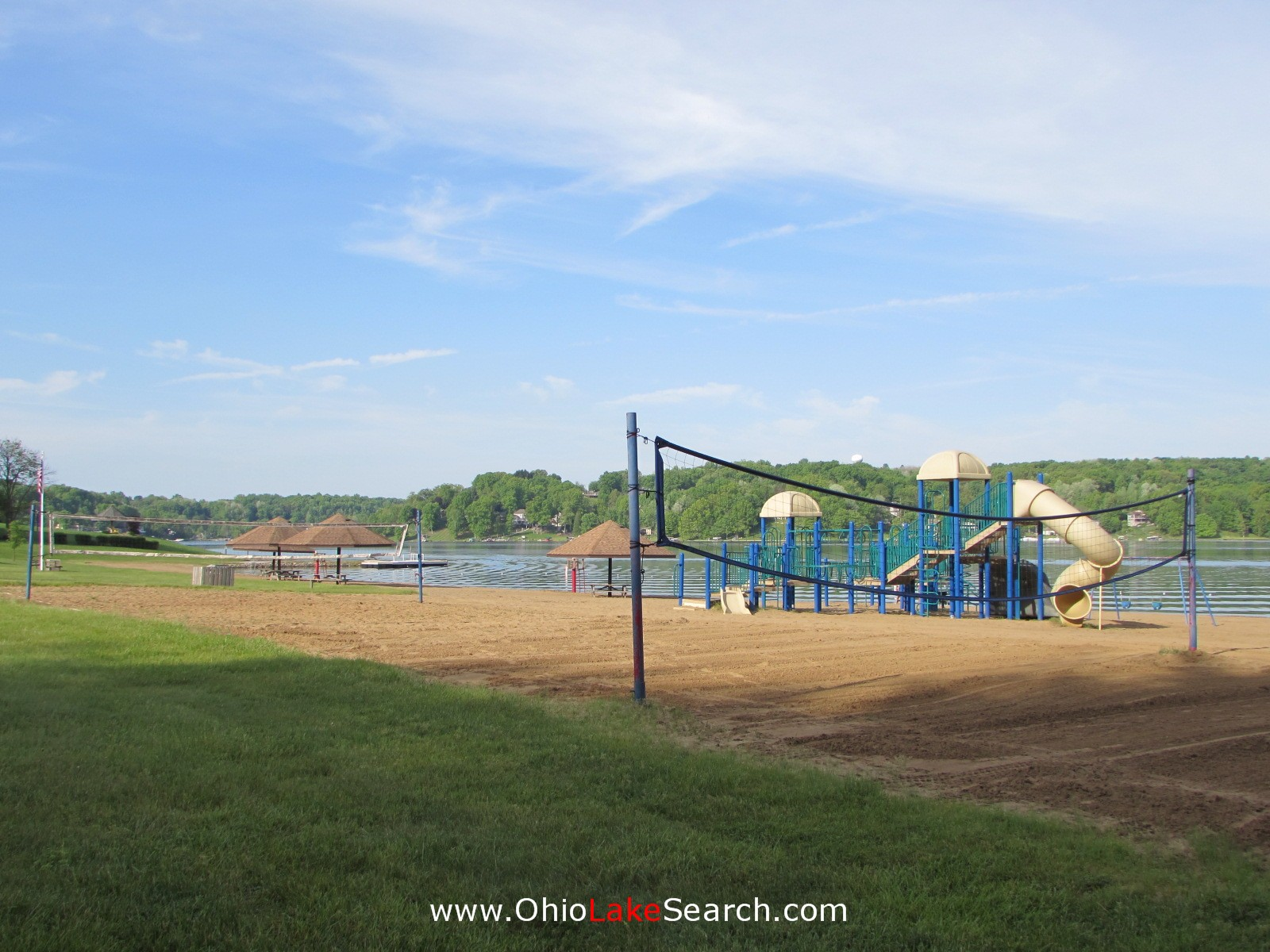 Lake Mohawk Ohio Sand Volleyball Courts