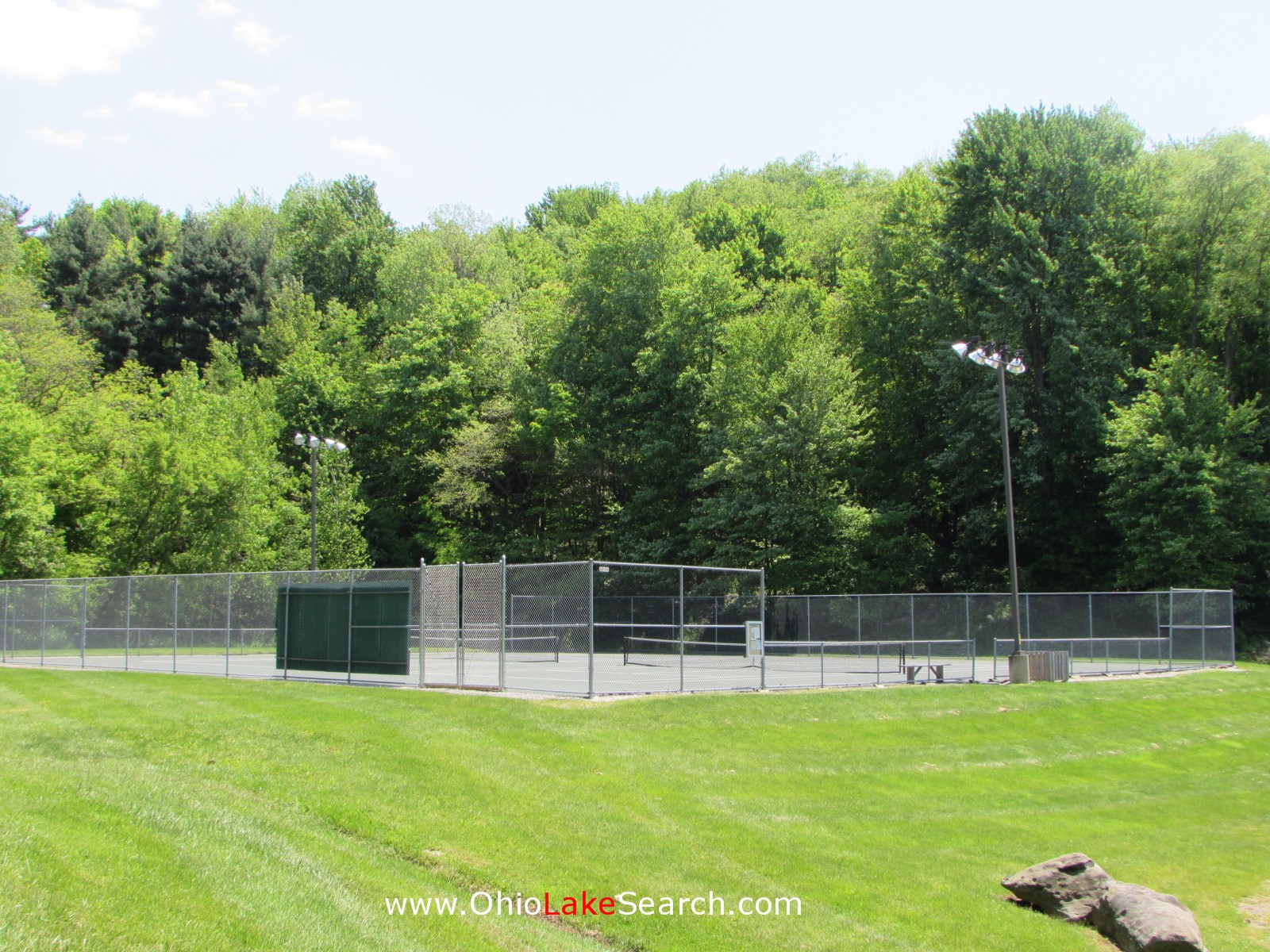 Lake Mohawk Ohio Tennis Courts