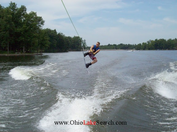 Lake Waynoka Ohio Skiing