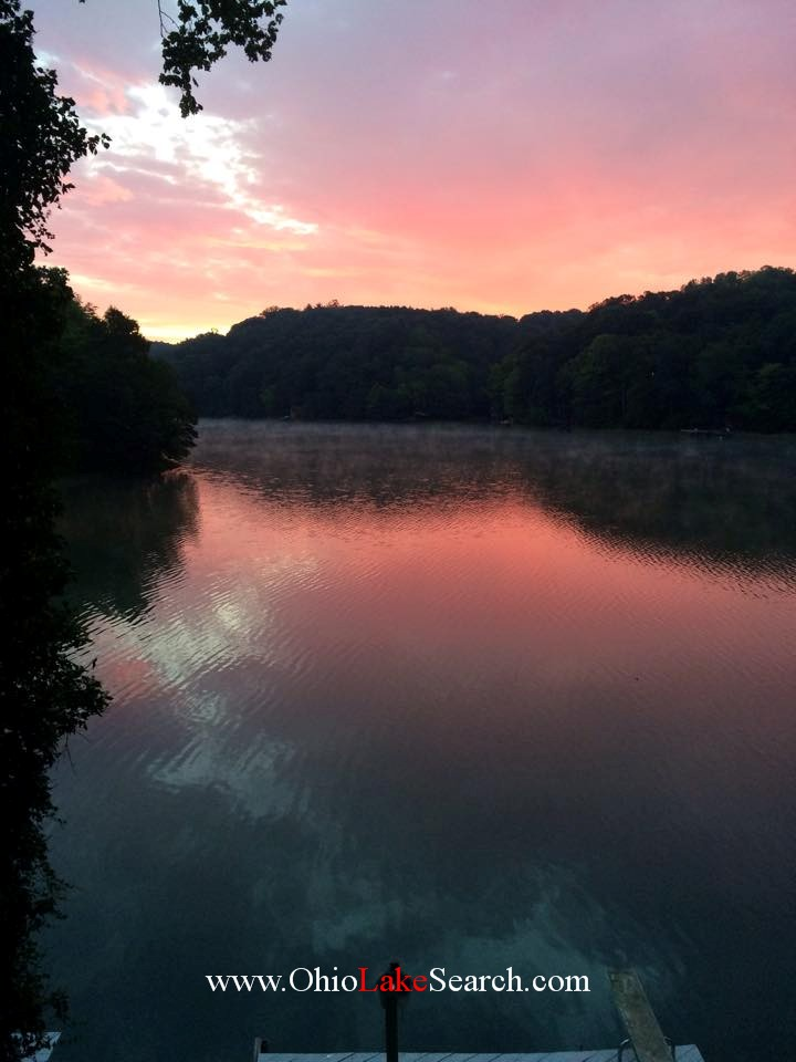 Sunset Lake of Four Seasons Ohio
