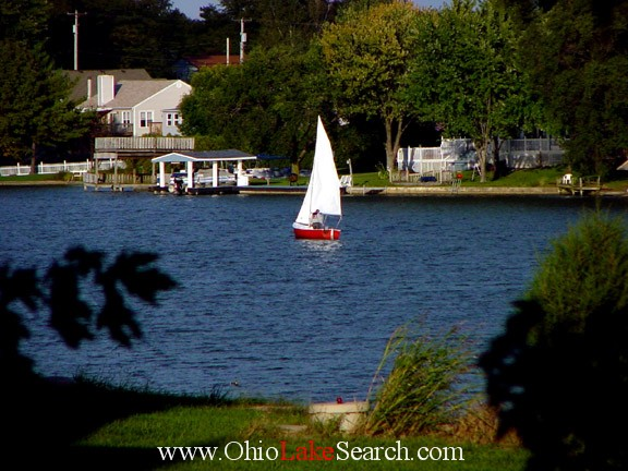 Lake Choctaw Ohio Sailing