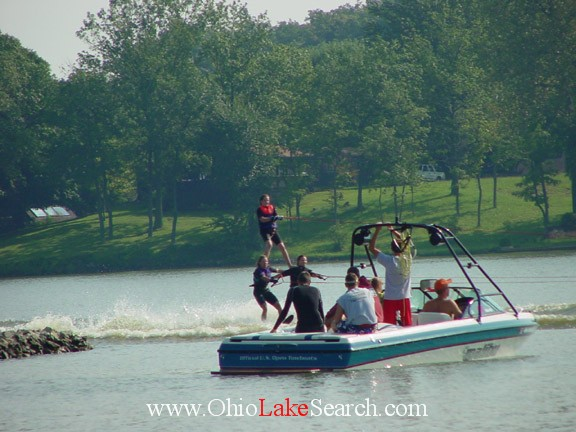 Lake Choctaw Ohio Skiing